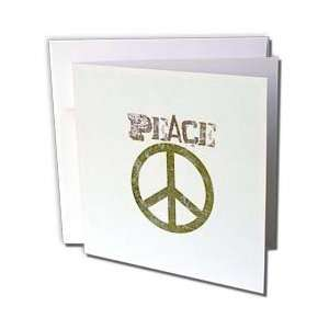 Patricia Sanders Creations   Green Peace Sign Symbols
