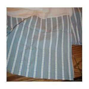 JC Penney Casual Stripe Bedskirt Seaside FULL