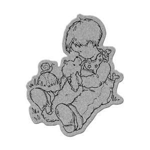 Penny Black Cling Rubber Stamp 4X5.25: Arts, Crafts