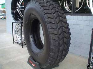 37 inch Mud Tires Goodyear MT Humvee Pull Offs Set of 4