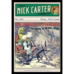 Nick Carter The Demons of the Night 24X36 Giclee Paper