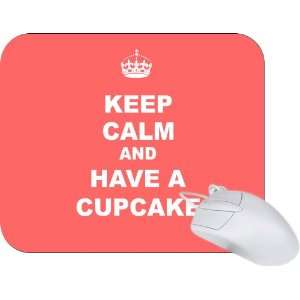 Rikki Knight Keep Calm and have a Cupcake   Tropical Pink