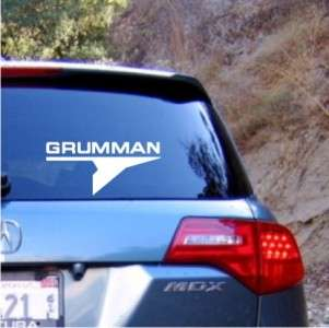 Grumman Logo Vinyl Decal Sticker 14 Colors to Choose