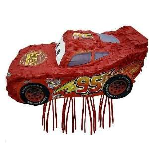 Cars   Lightning Mcqueen Red Party Pull Pinata Toys