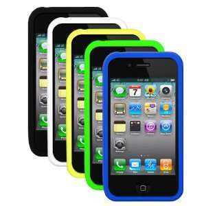Green, Blue) for Apple iPhone 4S / iPhone 4 Cell Phones & Accessories