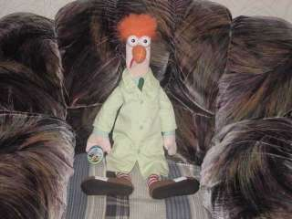 24 Beaker Muppet Plush Toy With Tags Jim Henson Nice