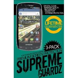 Samsung Droid Charge Supreme Guardz Premium Screen Protector (3 PACK)