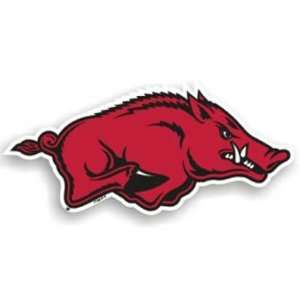 BSS   Arkansas Razorbacks NCAA 12 Car Magnet