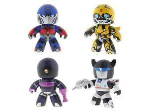 Hasbro Mighty Mugg Transformers Set of 4 Vinyl Figures