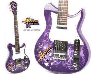 NEW BOX DISNEY WASHBURN HANNAH MONTANA ELECTRIC GUITAR