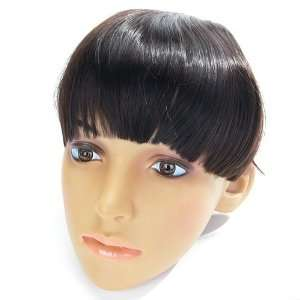Synthetic Hair Extension Fringe Bangs Wig with 2 Clips