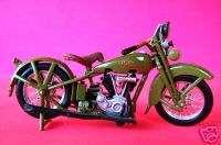 HARLEY DAVIDSON 1928 JDH DIECAST MODEL MOTORCYCLE
