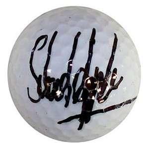 Stuart Appleby Autographed / Signed Golf Ball  Sports