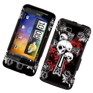 / Vision (T Mobile) Rubberized Snap On Protector Hard Case Cross N
