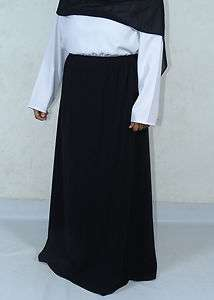 Long Black Skirt Hijab Abaya burga Jilbab viel islamic