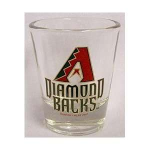 Arizona Diamondbacks Logo Standard Shot Glass (new logo