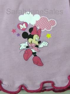 Girls Toddlers Disney Minnie Mouse Long Leg Pyjamas Set