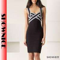 NEW women elegant cocktail party bandage dress Prom Dress Size 2 4 6