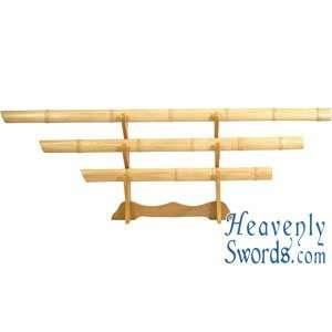 Natural Bamboo Sword Set