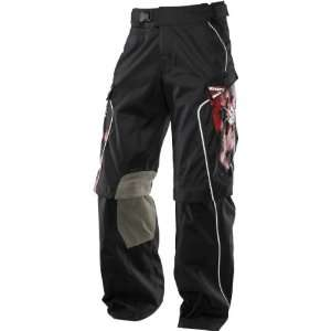 Shift Racing Recon Pants Black/Red 30