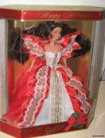 1997 Happy Holidays BARBIE Doll   Nice Red Dress