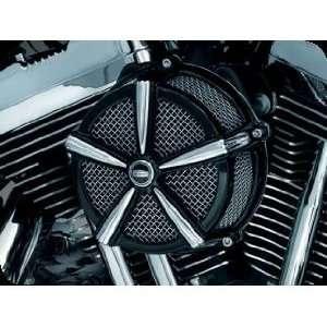 Kuryakyn 9536 Hi Five Mach 2 Black and Chrome for Harley Davidson 2008