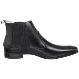Stacy Adams 24608 Mens Leather Vantage Boot Dress Shoe Black 11 M
