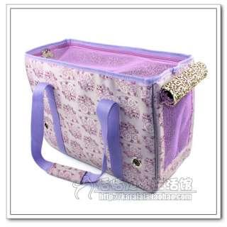fabric doggie totes puppy travel carrier handbag portable pet bag B03