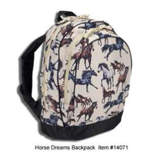 Wildkin HORSE DREAMS BACKPACK Childs School Bag 14071