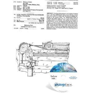NEW Patent CD for LEVEL CONTROL SYSTEM FOR LIQUID SOLDER