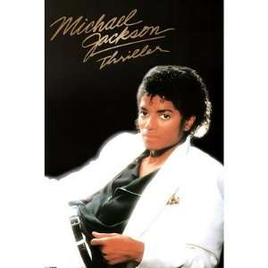 Michael Jackson    Thriller Album Cover Poster