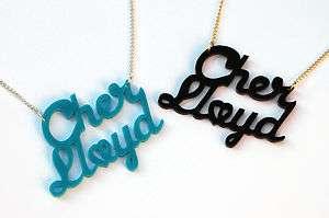 Cher Lloyd necklace fan girl merchandise gift