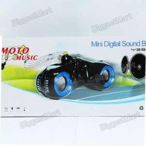 New Hot Mini Digital Sound Box MOTO MUSIC White Blue Black