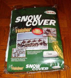 LAYOUT GROUND HUNTING BLIND SNOW COVER NEW 700905014019