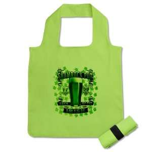 Reusable Shopping Grocery Bag Kiwi Shamrock Pub Luck of the Irish 1759