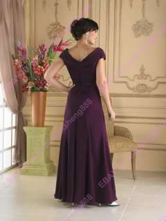 Wedding Mother Bride Dress Evening Formal Gown Custom