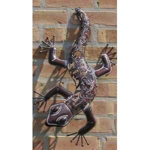 Metal Die Cut Lizard   Great Garden Display Everything