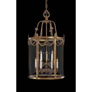 Metropolitan N850909 Pendant Dore Gold Clear Glass