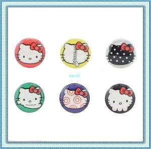Cute Lovely HelloKitty Home Button Sticker for iPad iPod iPhone4 4G 4S