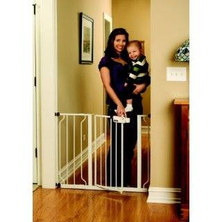 Regalo Extra Tall Baby Toddler Child Pet Extra Wide Safety Gate W Door
