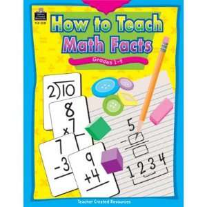 How to Teach Math Facts Toys & Games