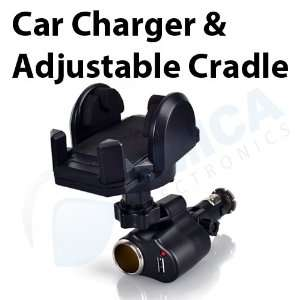 Blue Magic 3 in 1 Universal Car Charger / Holder for iPhone