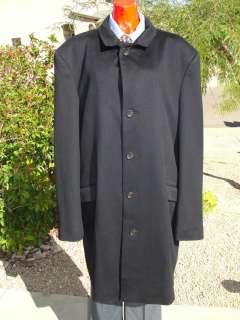 NWOT Loro Piana Navy Blue 100% Cashmere Coat ~ 44L
