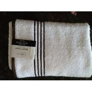 Set of 2 Mainstays Stripe Bath Towel Home & Kitchen