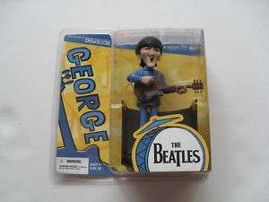 BEATLES SATURDAY MORNING CARTOON *GEORGE HARRISON* FIGURE DOLL MOC NEW