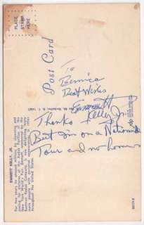 SIGNED PC Emmett Kelly Jr The Clown Prince of Pantomime