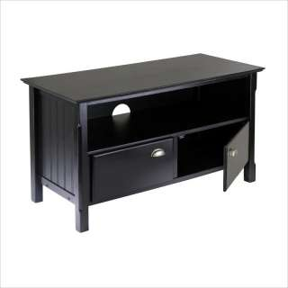 Timber Solid Wood Plasma/LCD Black TV Stand 021713202444