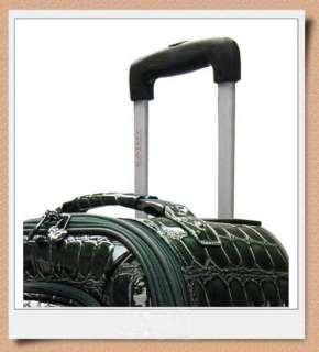 KATHY VAN ZEELAND Glamour 20 Rolling Carry On Luggage