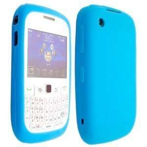 Light Blue High Quality Soft Silicone For Blackberry Curve 2 8520 8530