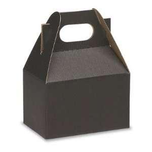 4 x 2 1/2 x 2 1/2 Black Gable Boxes